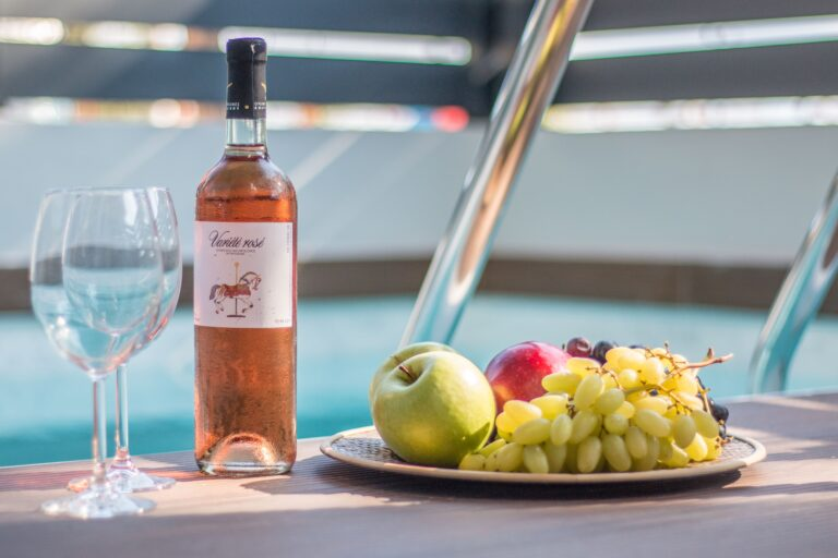 aelia suites pool and wine